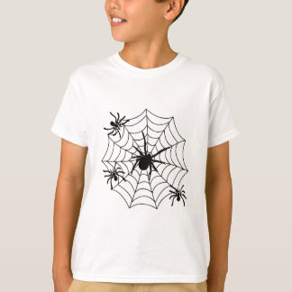 SPIDERS ON WEB T-Shirt