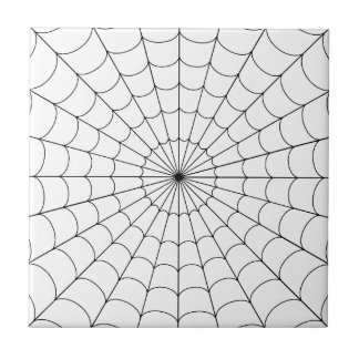SPIDER'S WEB 3rd MOVEMENT ~ Small Square Tile