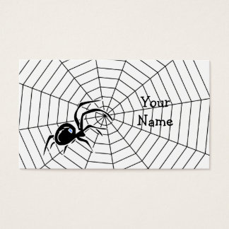 Spiders Web Business Card
