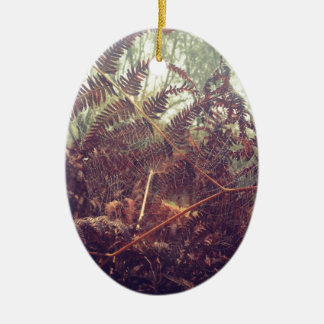 Spiders web christmas ornament