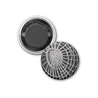Spider's Web 3 Cm Round Magnet