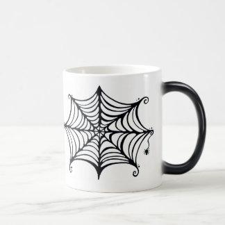 Spider's Web Morphing Mug
