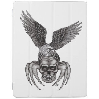 Spiderskull with Eagle iPad Cover