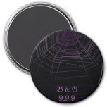Spiderweb 7.5 Cm Round Magnet