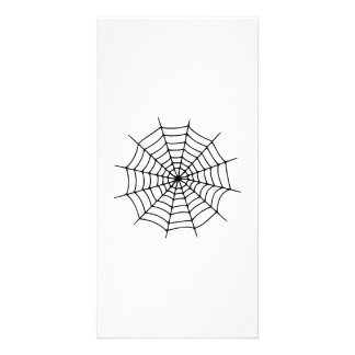 Spiderweb Customized Photo Card