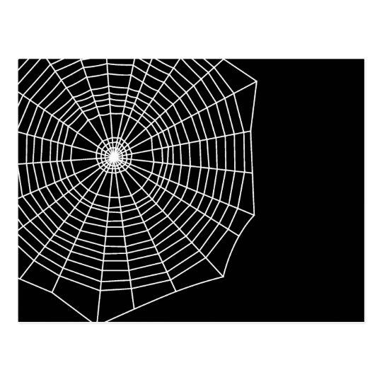 Spiderweb Postcard