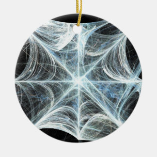 Spiderweb Round Ceramic Decoration
