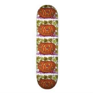 Spidery Jack O'Lantern 20 Cm Skateboard Deck