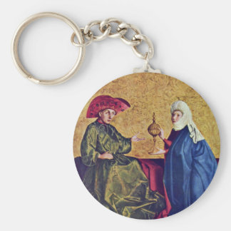 Spiegel Salvation Altar Scene Right Wing Inside Th Key Chain
