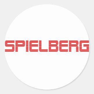 Spielberg Round Sticker