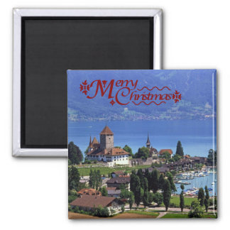 Spiez by Lake Thun Magnet