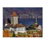 Spiez Castle, Switzerland / Schloss Spiez, Schweiz Postcards