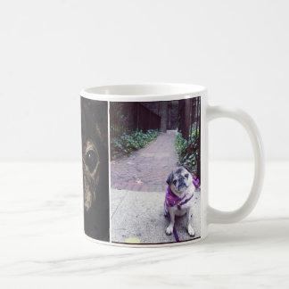 Spike and Emma Basic White Mug