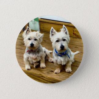 Spike and Polar. 6 Cm Round Badge