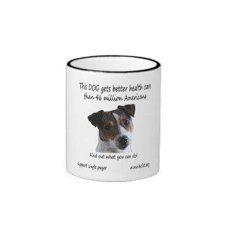 Spike Gets Better Health Care Ringer Mug