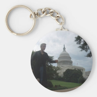 Spike in Washington Key Ring