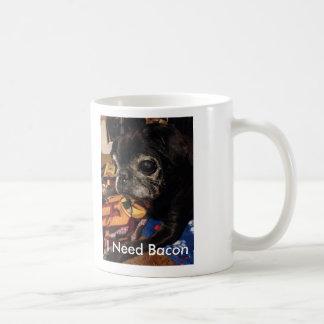 Spike Needs Bacon Basic White Mug
