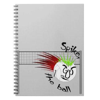 Spike, The Ball Notebook