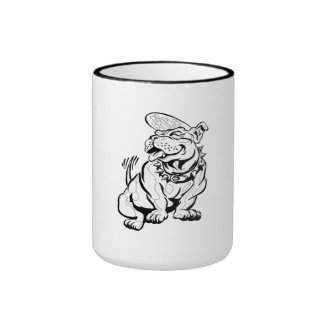 Spike The Bulldog Coffee Mugs