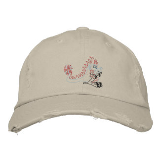 spike the dragon embroidered cap