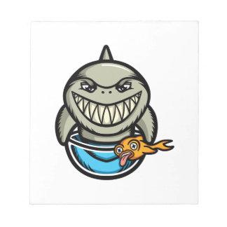 Spike the Shark Notepad