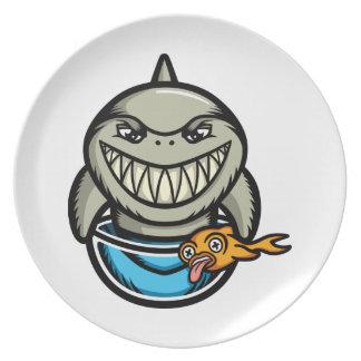 Spike the Shark Plate