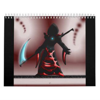 Spike Wolf Reaper calendar