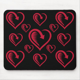 Spiked Heart - Mouse Pad