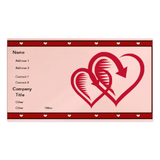 Spiked Heart - Pack Of Standard Business Cards