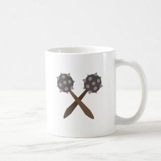 Spiked Mace Basic White Mug