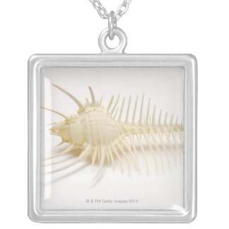 Spiked Murex shell Silver Plated Necklace