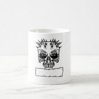 Spiked Skull Mugs