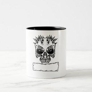Spiked Skull Coffee Mugs