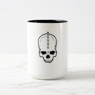 Spiked Skull Coffee Mug