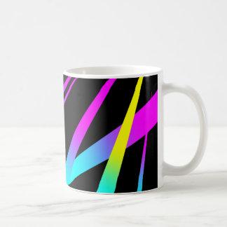 Spikes CYMK black Coffee Mug