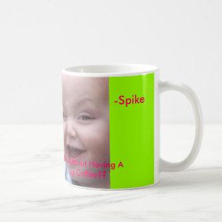 Spike's Mug.. Basic White Mug
