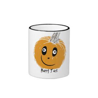 spikeyjacklantern, Happy Jack Ringer Mug