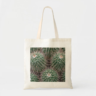 spiky cactus tote bag