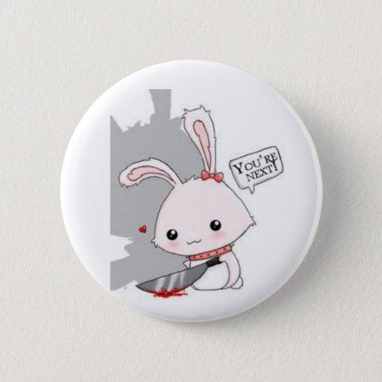Spilla Killer Bunny 6 Cm Round Badge