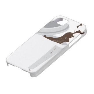 Spilled Coffee iPhone 5 case