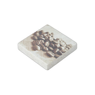 Spilled Coffee Stone Magnet