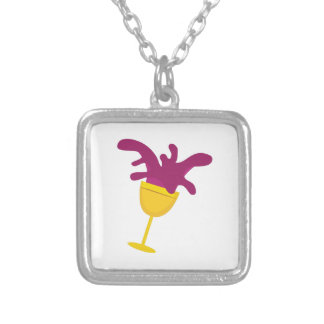 Spilled Wine Necklaces