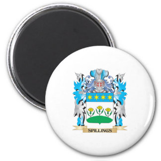 Spillings Coat of Arms - Family Crest Fridge Magnets