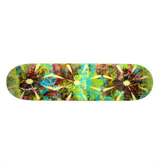 Spilt Paint Skateboard Decks