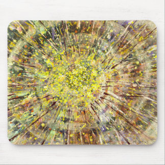 Spin Artwork Spatter Creative Computer Mouse Pad