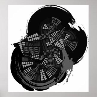 Spin City Print