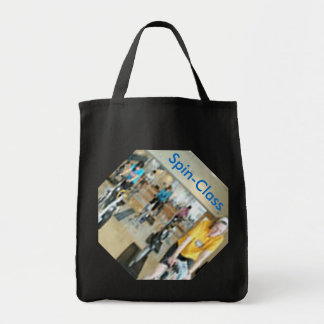 Spin-Class Grocery Tote Bag