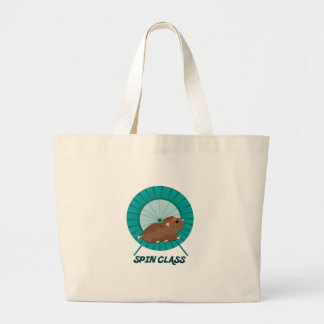 Spin Class Large Tote Bag