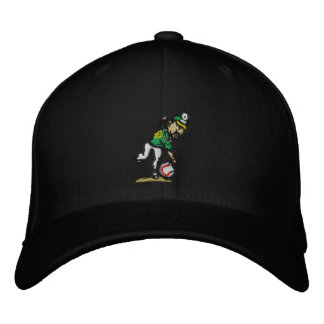 Spin Doctor Team Hat Black Embroidered Baseball Caps
