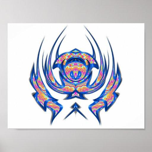 Spin emblem 000007 print